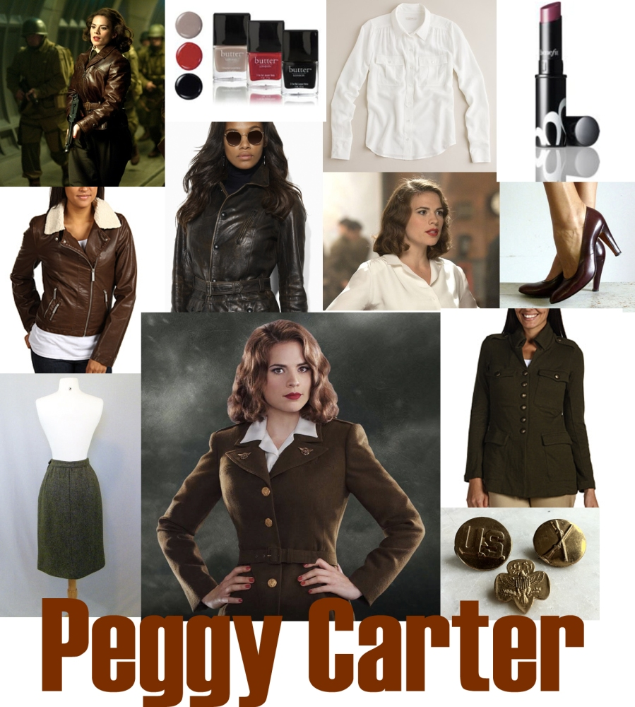 Dress Like a (Female) Super Hero: Peggy Carter
