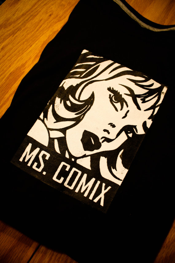 Ms.Comix T-Shirts, Hot Off the Press! (1/6)