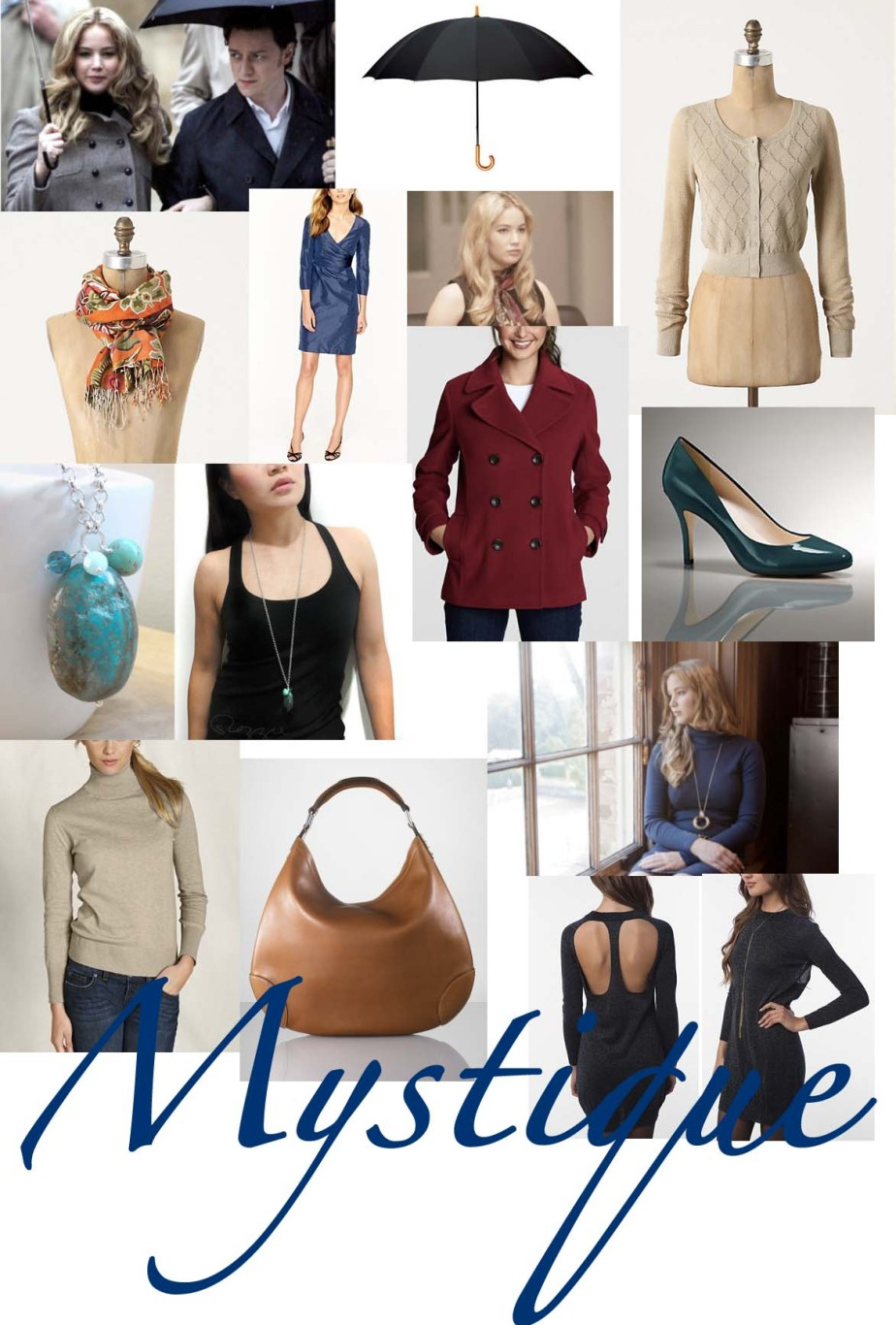 Dress Like a (Female) Superhero: Mystique
