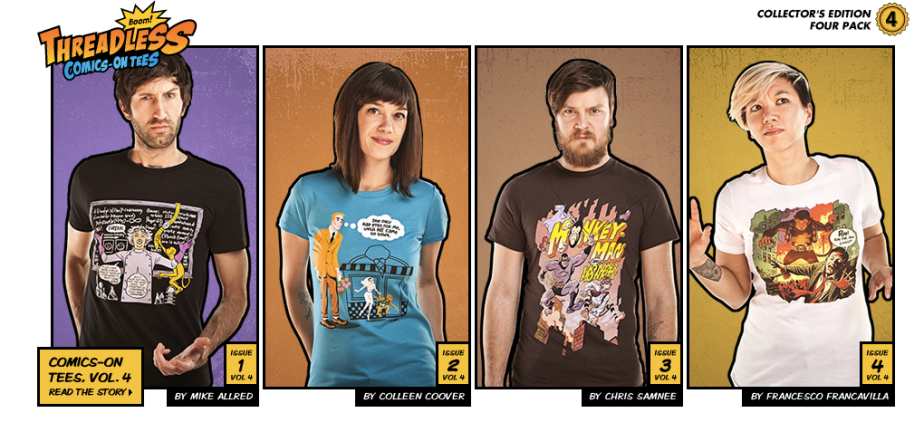 Threadless Comic Inspired T-Shirts