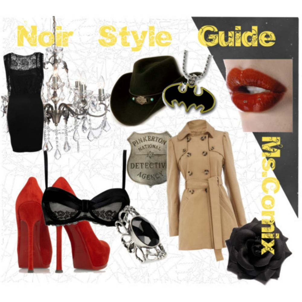 Noir Comics Fashion Style Guide (1/6)