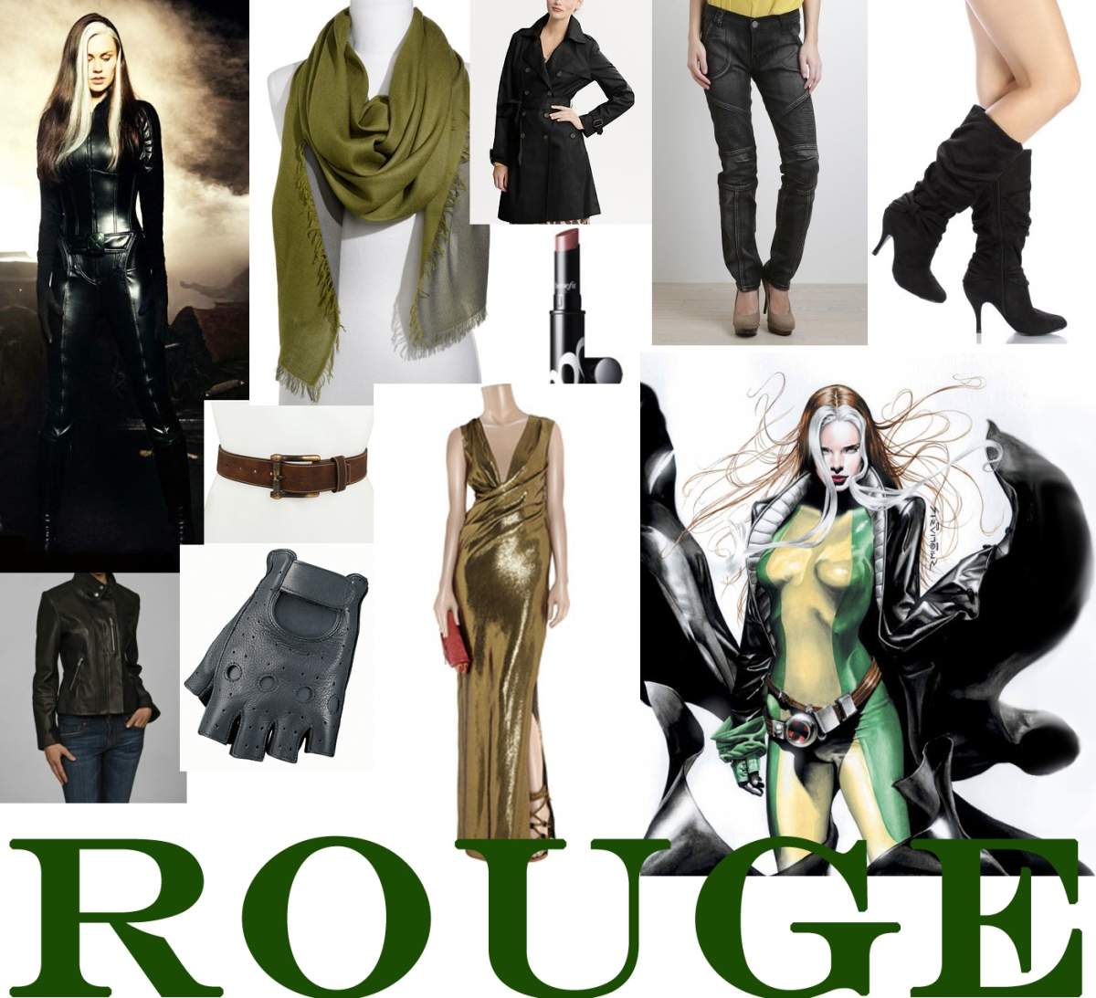 How to Dress Like a (Female) Superhero: Rogue
