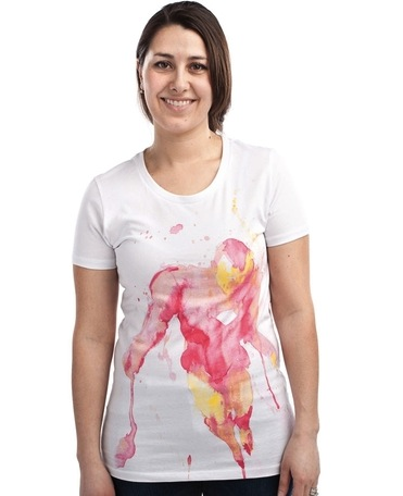 Iron Man T-Shirts That Consider a Woman's Curves